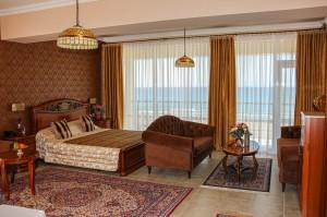 Люкс 2-х комнатный с фронтальным видом на море